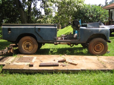 Landrover 109 Rebuild - Before