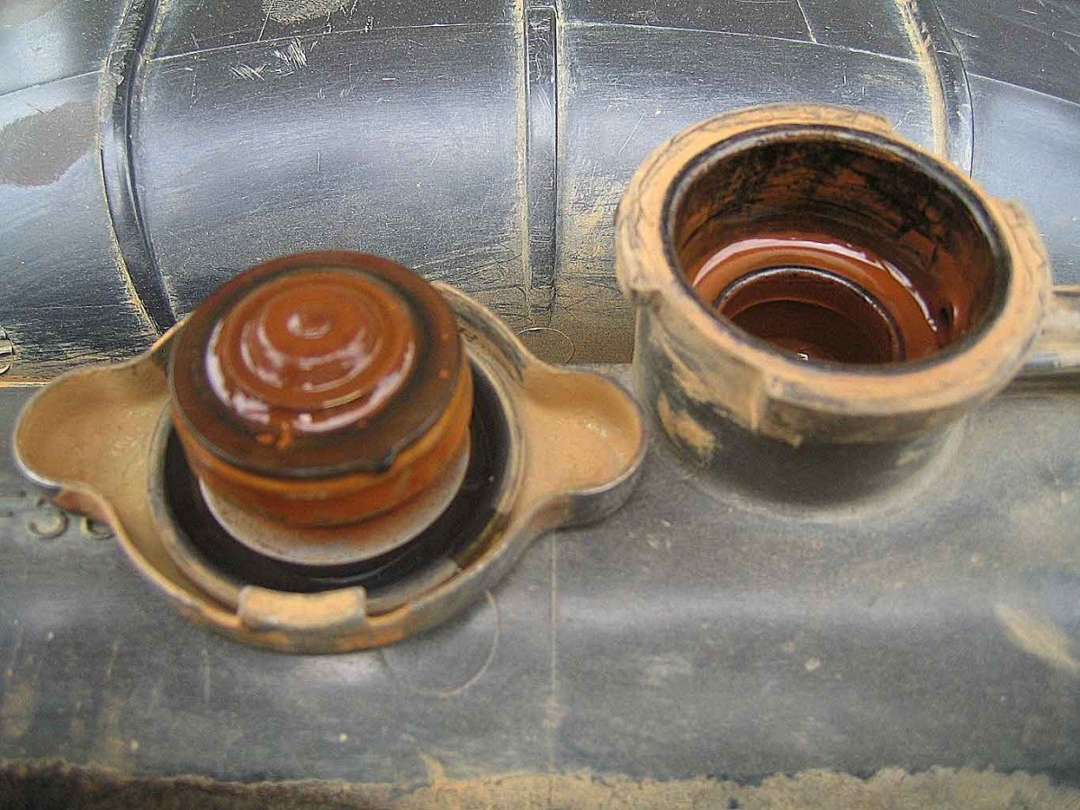 Oil In Coolant >> Coolant and Thermostats - Are They Necessary?