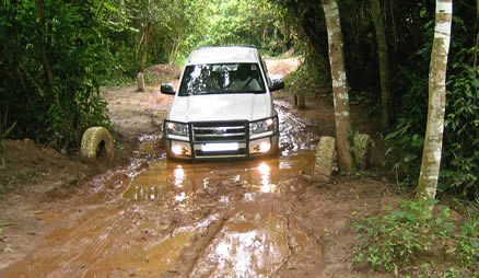 4wd training photo low range
