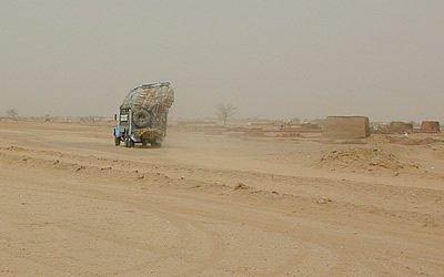 Driving in Sudan
