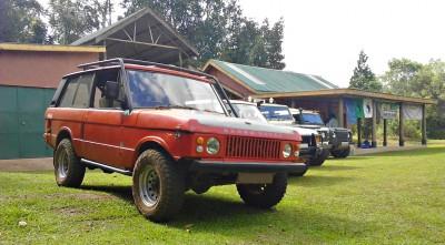 Range Rover - Posing Shot