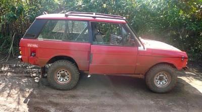 Rebuilt Range Rover - Front View