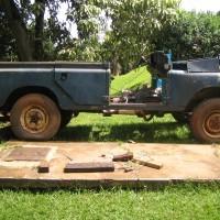 Blue 109 Rebuild - Before