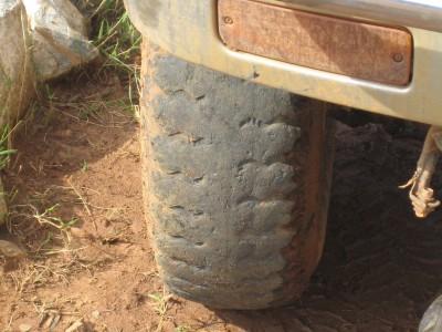 Excessive Tyre Wear