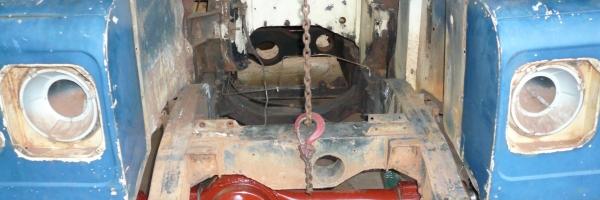 Landrover 109 Rebuild - In-Progress Photo