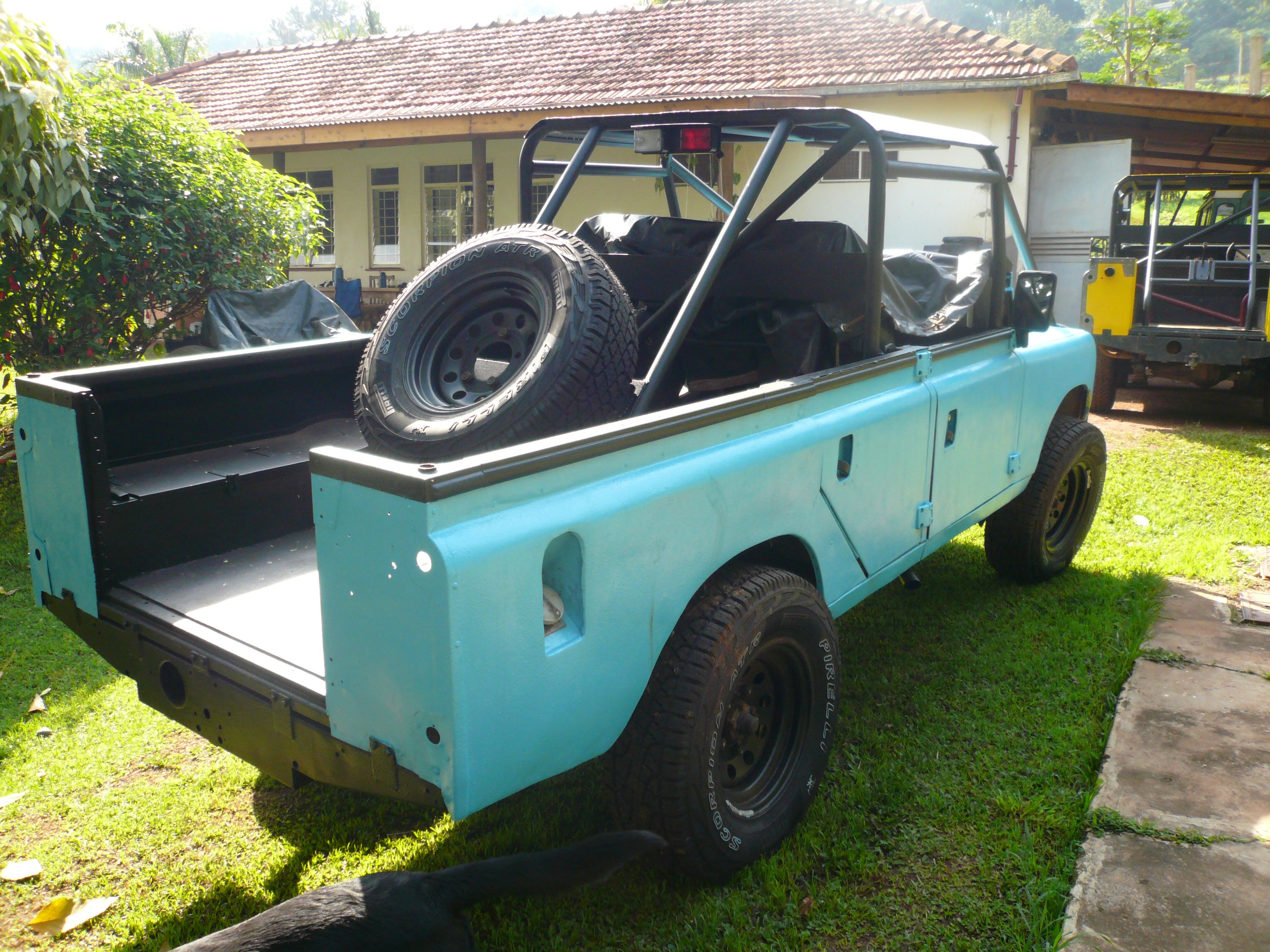 Landrover 109 Rebuild - In-Progress Photo