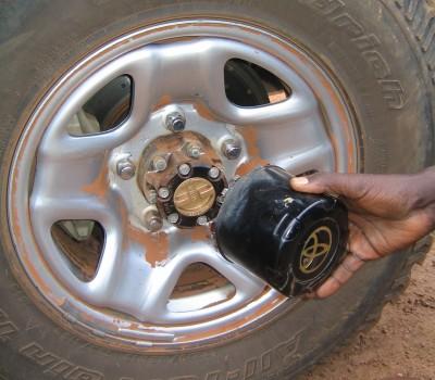 Toyota Free Wheeling Hubs