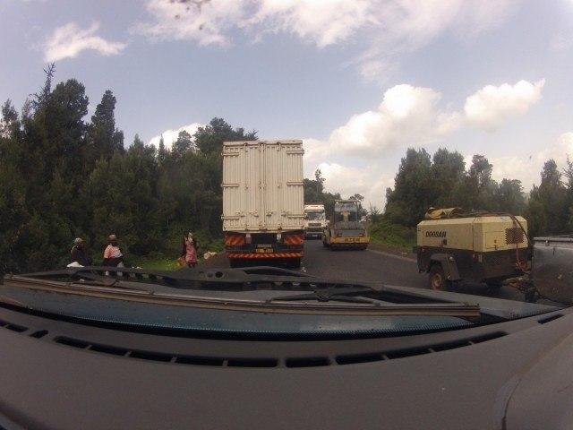 Eldorate-Nakuru Highway - Traffic