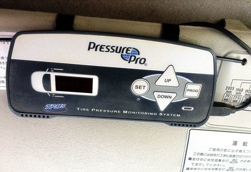 Tyre Pressure Monitor System - Monitor