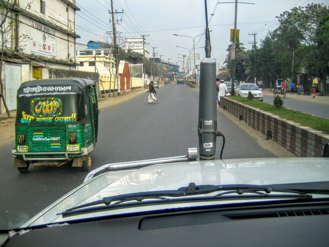 Blind Spots - Front HF Antenna