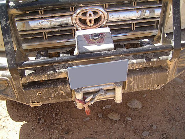 Armoured Vehicle Winch - Front