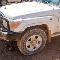 Up Armoured Vehicle Recovery Consideration: Fitting a Winch