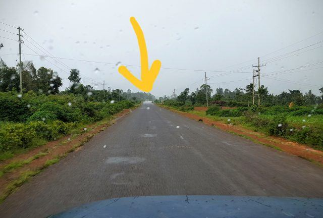 Change in Road Condition